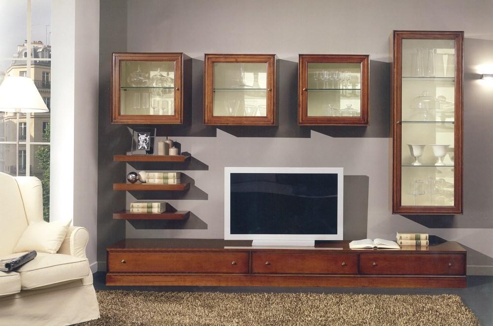 Pareti attrezzate stile contemporaneo for Stile contemporaneo mobili